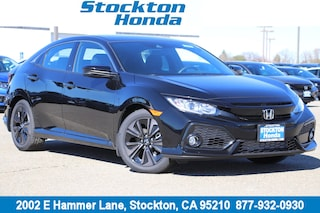 New 2019 Honda Civic EX Hatchback for sale in Stockton, CA at Stockton Honda