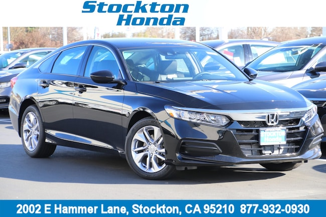 New 2019 Honda Accord LX Sedan for sale in Stockton, CA at Stockton Honda