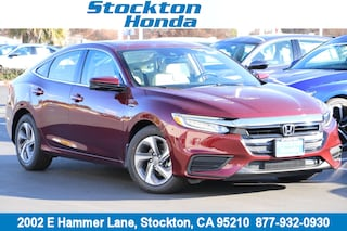 New 2019 Honda Insight EX Sedan for sale in Stockton, CA at Stockton Honda