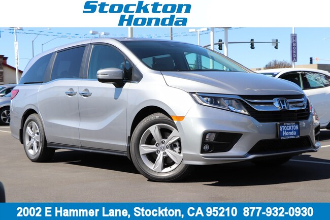 New 2019 Honda Odyssey EX-L w/Navigation & RES Van for sale in Stockton, CA at Stockton Honda
