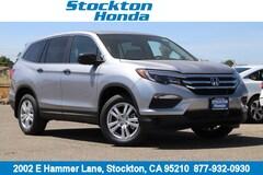 New 2018 Honda Pilot LX AWD SUV for sale in Stockton, CA at Stockton Honda