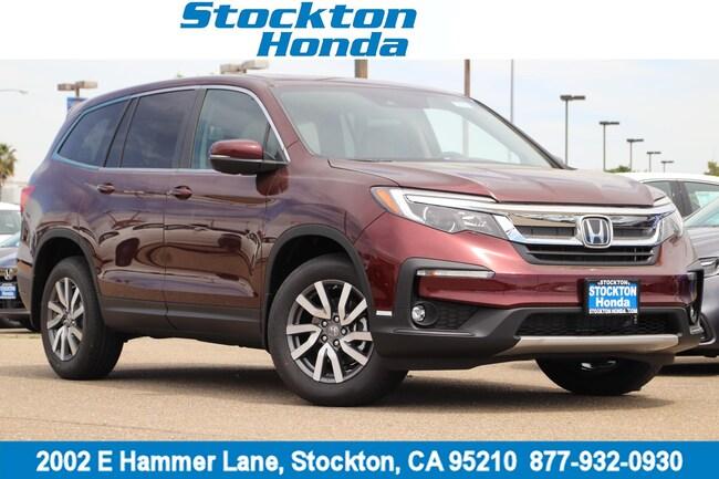 New 2019 Honda Pilot EX-L AWD SUV for sale in Stockton, CA at Stockton Honda