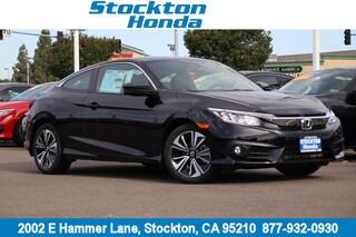 New 2018 Honda Civic EX-T Coupe for sale in Stockton, CA at Stockton Honda