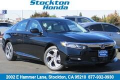 New 2018 Honda Accord EX Sedan for sale in Stockton, CA at Stockton Honda