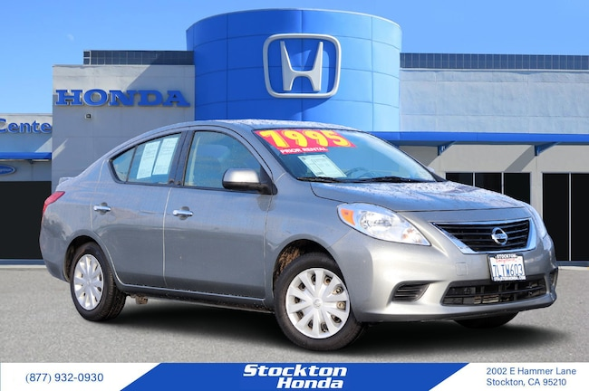 2014 Nissan Versa Sedan for sale in Stockton CA at Stockton Honda