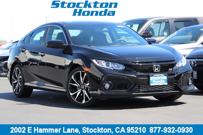 New 2019 Honda Civic Si Sedan for sale in Stockton, CA at Stockton Honda