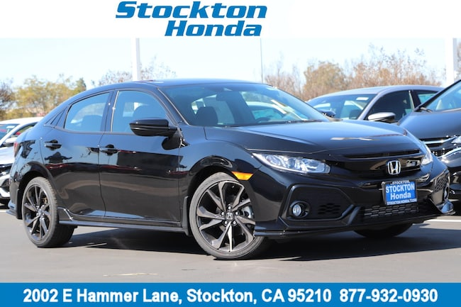 New 2019 Honda Civic Sport Hatchback for sale in Stockton, CA at Stockton Honda