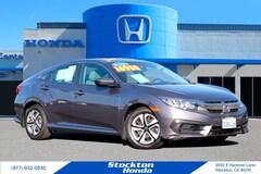 Used 2016 Honda Civic LX Sedan for sale in Stockton, CA at Stockton Honda
