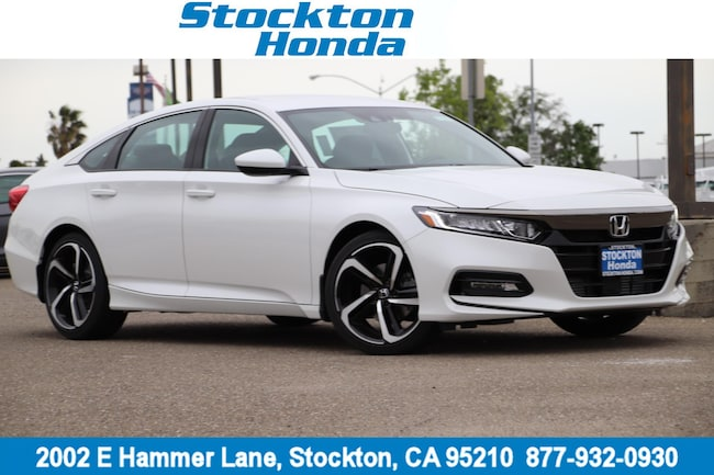 New 2019 Honda Accord Sport Sedan for sale in Stockton, CA at Stockton Honda