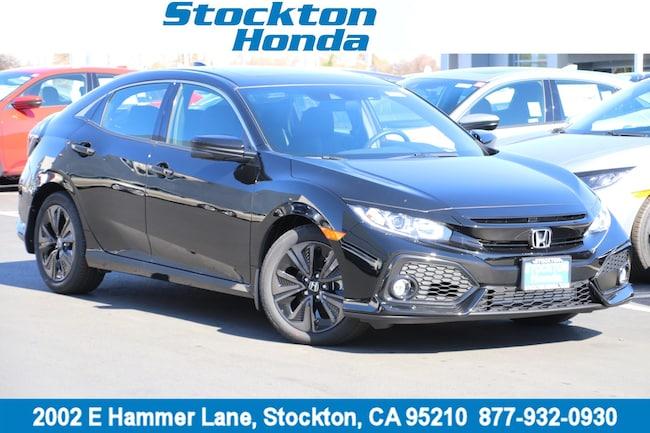 New 2019 Honda Civic EX Hatchback for sale in Stockton, CA at Stockton Honda