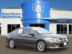 Used 2014 Honda Accord Sport Sedan for sale in Stockton, CA at Stockton Honda