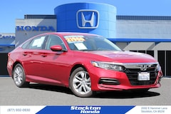 Used 2018 Honda Accord LX   DEALER LOANER Sedan   DEALER LOANER for sale in Stockton, CA at Stockton Honda