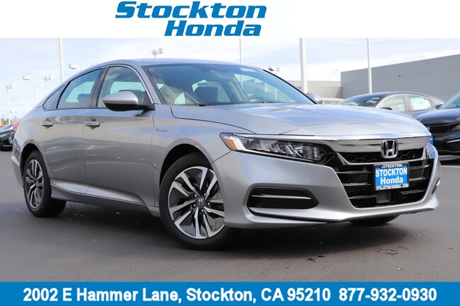 New 2019 Honda Accord Hybrid Sedan for sale in Stockton, CA at Stockton Honda