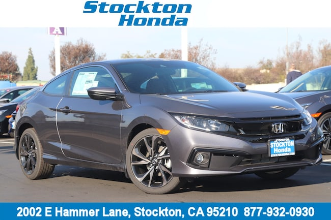 New 2019 Honda Civic Sport Coupe for sale in Stockton, CA at Stockton Honda