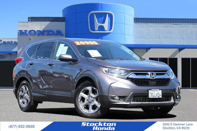 2017 Honda CR-V EX 2WD SUV for sale in Stockton CA at Stockton Honda