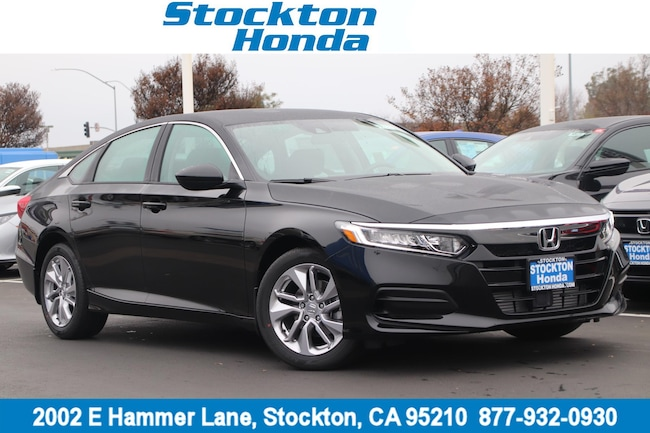 New 2019 Honda Accord LX Sedan for sale in Stockton, CA at Stockton Honda