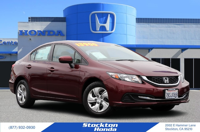 2015 Honda Civic LX Sedan for sale in Stockton CA at Stockton Honda