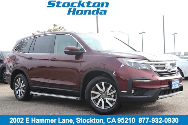 New 2019 Honda Pilot EX-L FWD SUV for sale in Stockton, CA at Stockton Honda