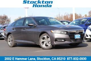 New 2019 Honda Accord EX Sedan for sale in Stockton, CA at Stockton Honda
