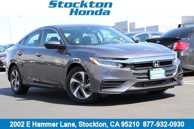 New 2019 Honda Insight LX Sedan for sale in Stockton, CA at Stockton Honda