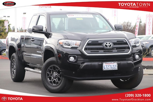 certified used 2017 toyota tacoma access cab sr5 for sale in