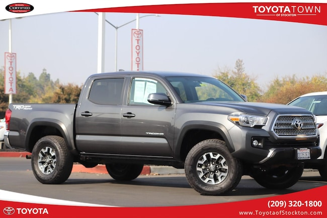 2017 Toyota Tacoma Double Cab Trd Offroad Truck Double Cab
