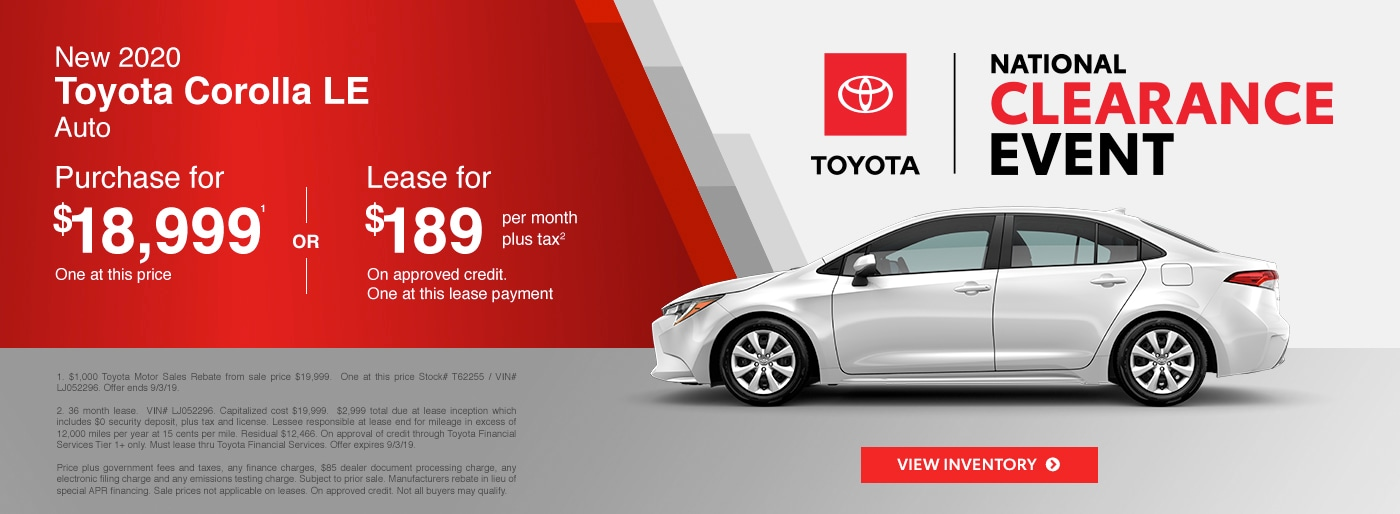 Toyota Town Of Stockton Find Great Deals On New 2019 2020 And Pre
