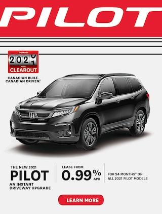 The 2020 Honda Pilot