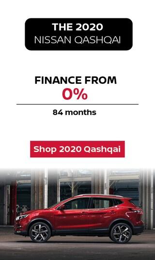 Finance the 2020 Nissan Qashqai