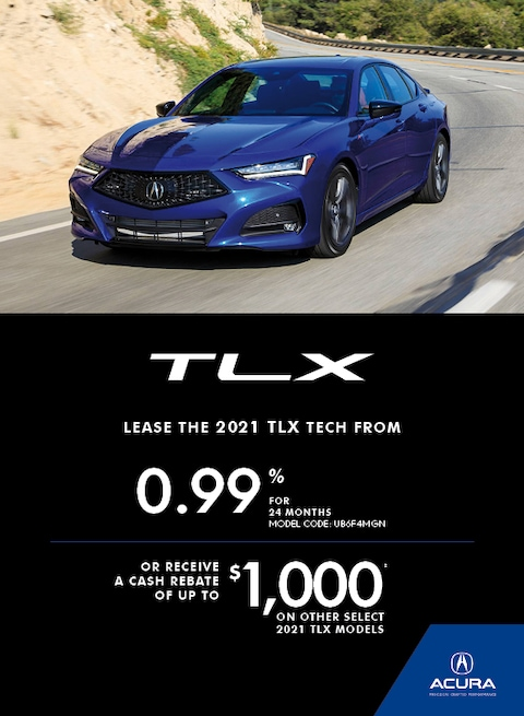 THE 2021 ACURA TLX