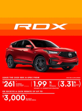 The 2020 Acura RDX