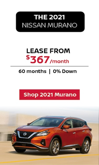 Lease the 2021 Nissan Murano