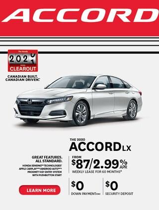 The 2020 Honda Accord