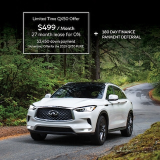 2020 QX50 Starting from $249 Semi Monthly