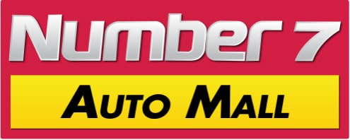 Number 7 Auto Mall Logo