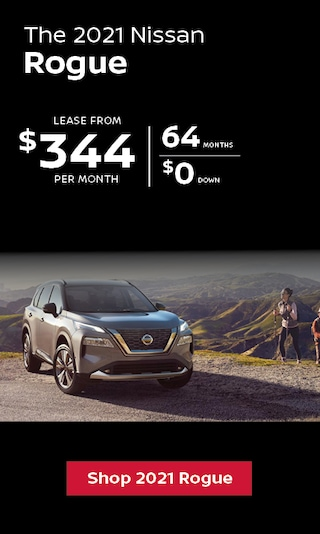 Lease a 2021 Nissan Rogue