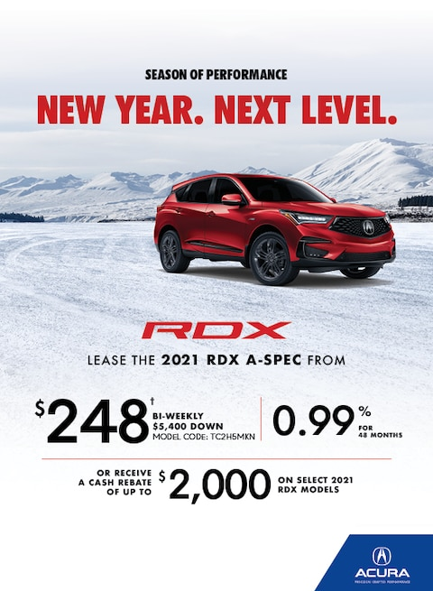 The 2020 Acura RDX
