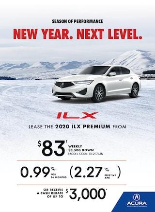 The 2020 Acura ILX