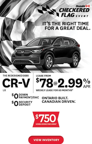 The 2020 Honda CR-V