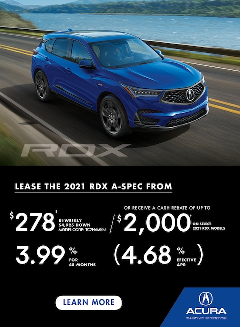 The 2021 Acura RDX
