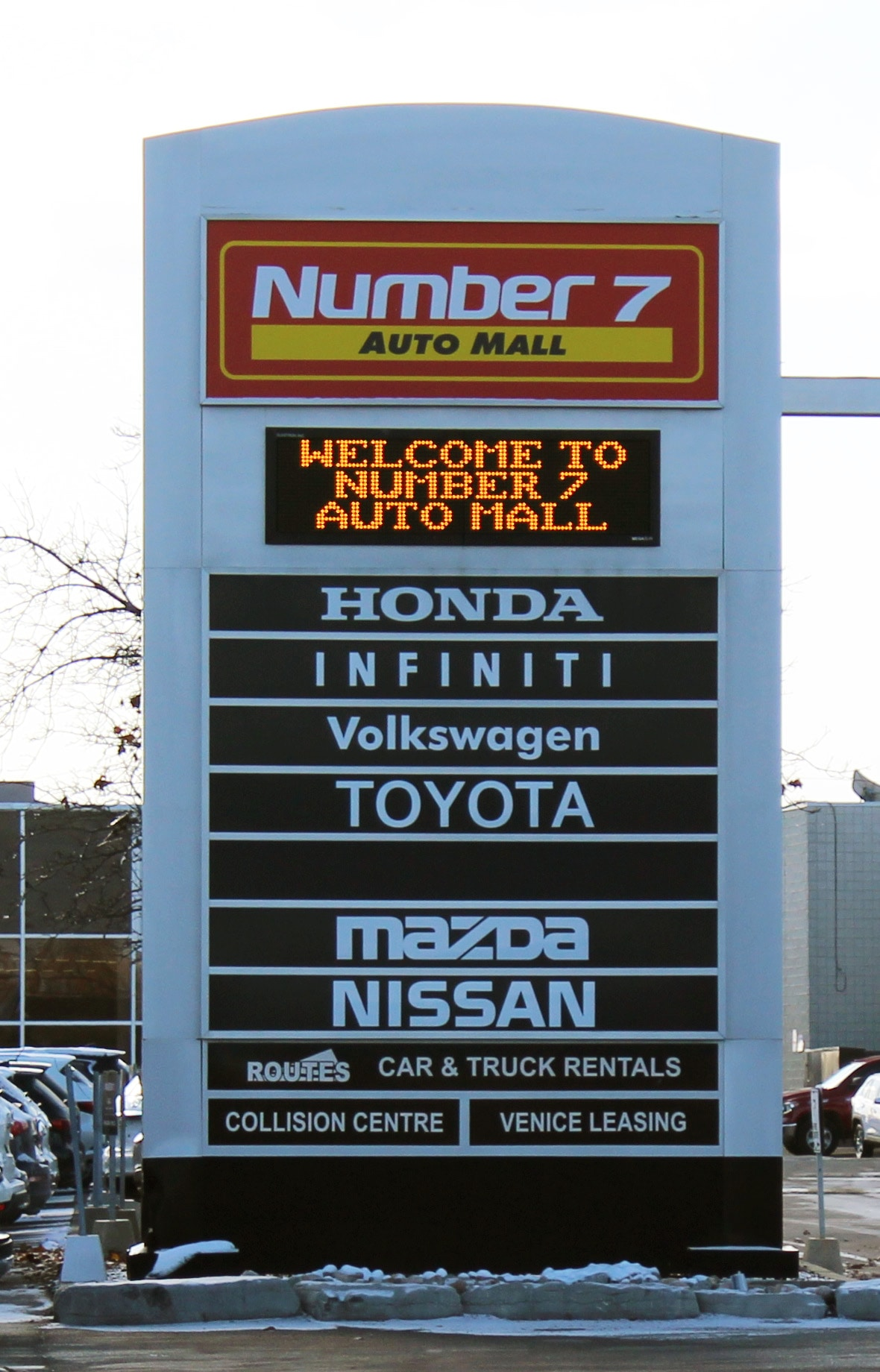 Number 7 Auto Mall - Zanchin Auto Group