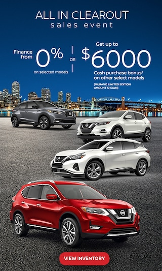 Nissan September Clearout 2020