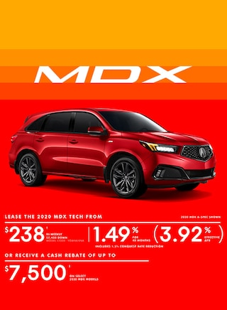 The 2020 Acura MDX