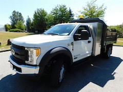 2017 FORD F550 Diesel 4x2 Reg Cab 9ft Dump w/ Tool Box XL