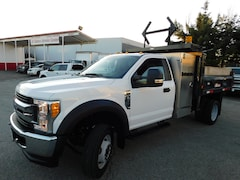 2017 FORD F550 R/Cab XLT 4x4 9ft Dump w/ Tool Box