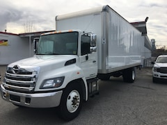 2017 HINO 268D-271 w/ 24' Box and PWR Lift A/C