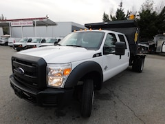 2016 FORD F550 Crew Cab w/ 11ft Dump 4x2 XL