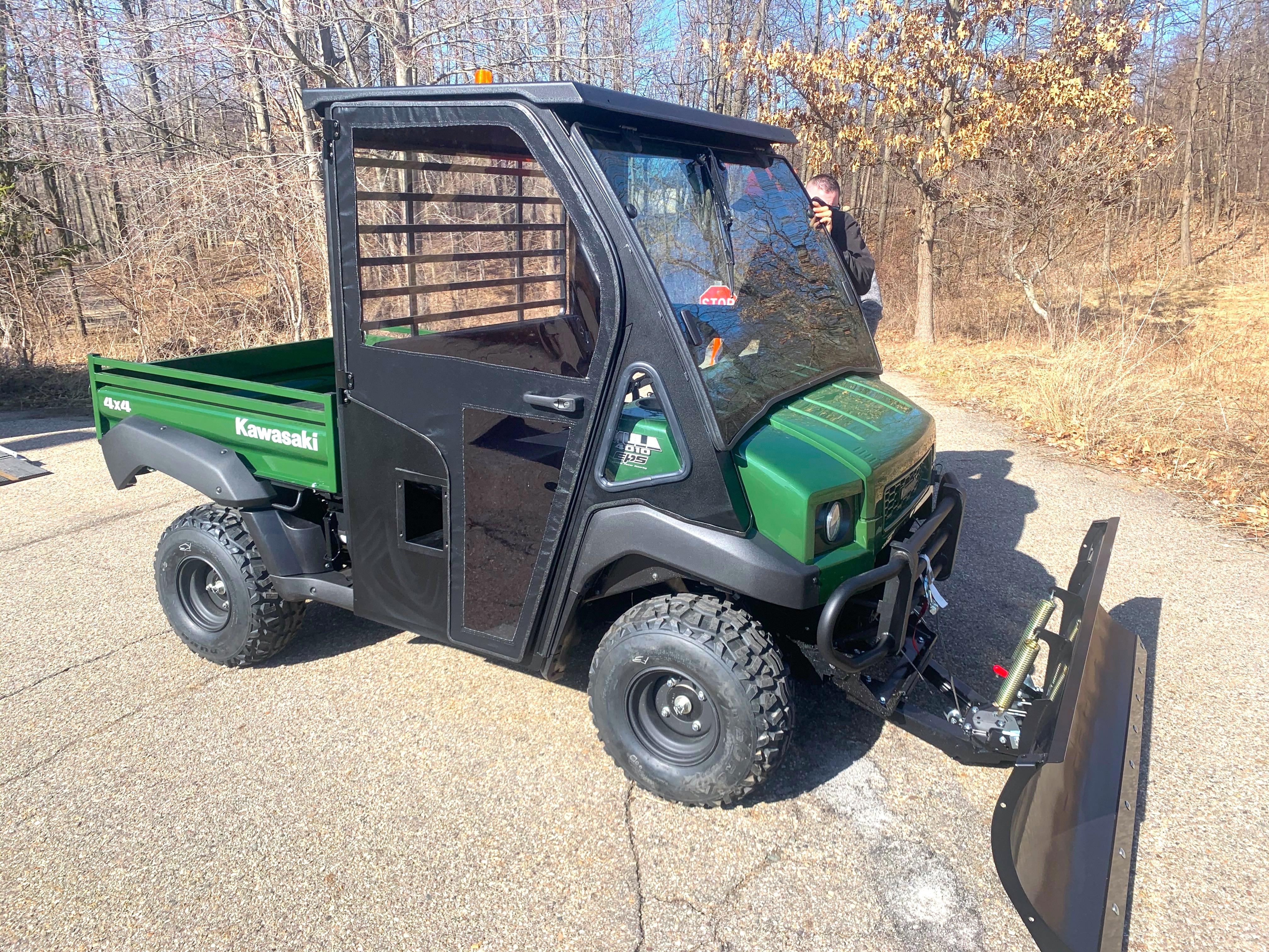 Zeigler Auto Group donates Kawasaki Mule Side by Side to Sherman Lake YMCA