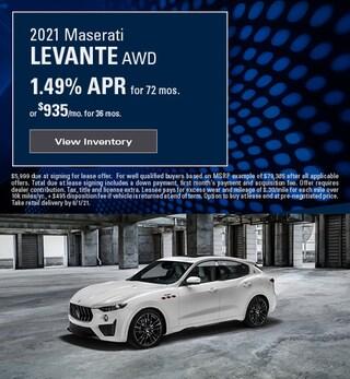 2021 Maserati Levante AWD - May 2021