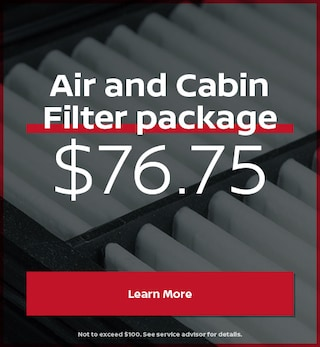 Air and Cabin Filter package